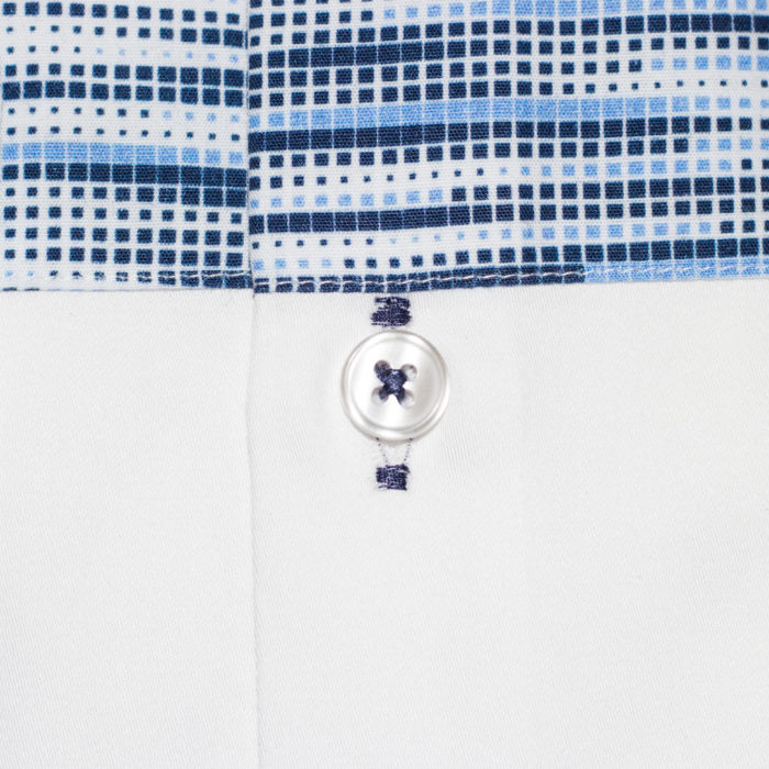 classic fit white shirt