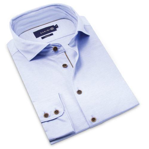Long Sleeve Shirt, Collar Shirt, Blue Shirt