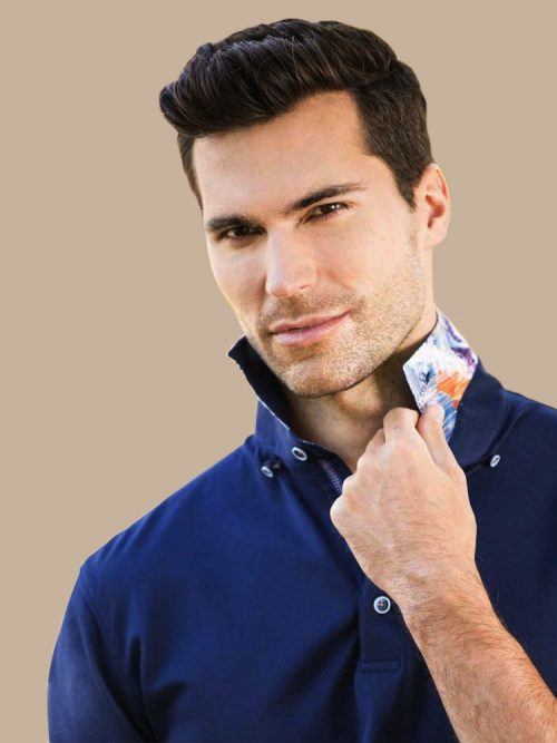 Dark Blue Men's Shirt