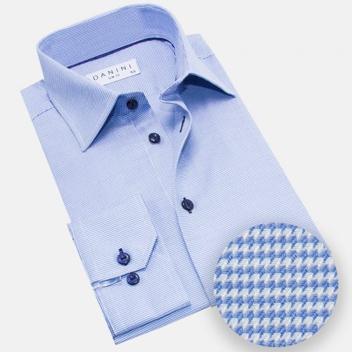 Blue dress shirt - Full Sleeved