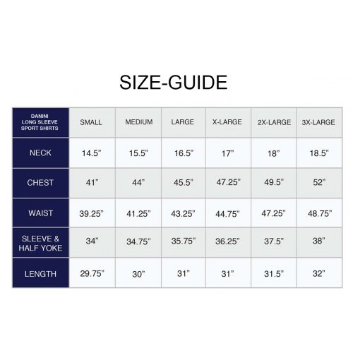 Size Guide Danini