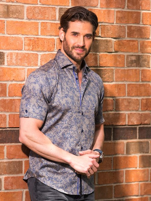 Grey Short Sleeve Shirt