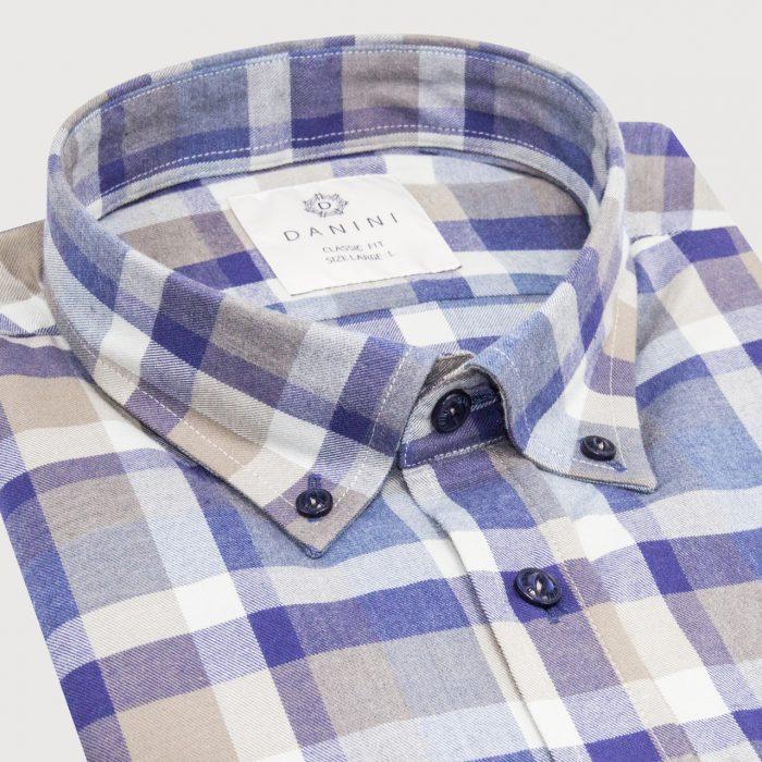 Collar Check Shirt