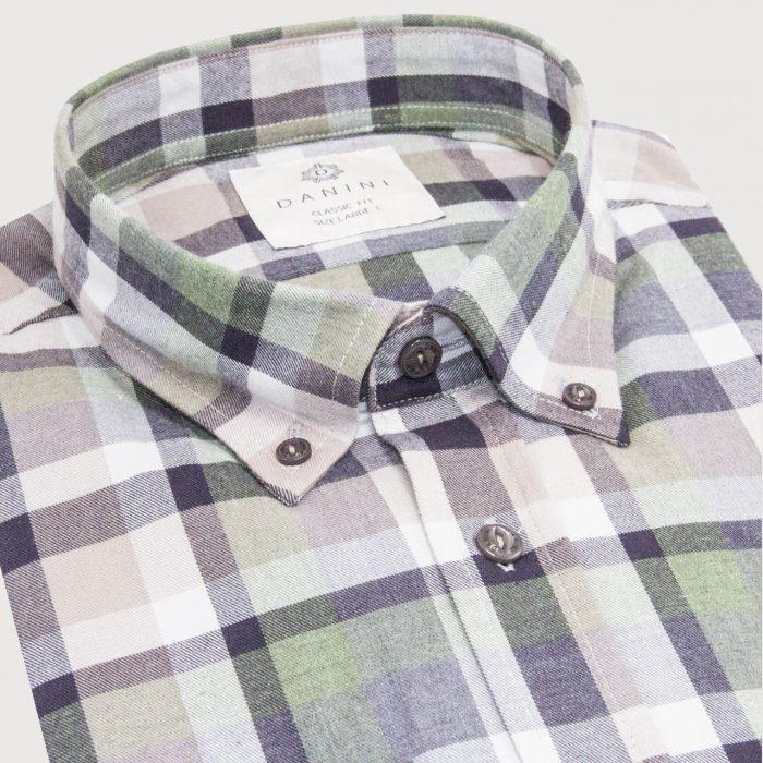 Button Down Check Shirt