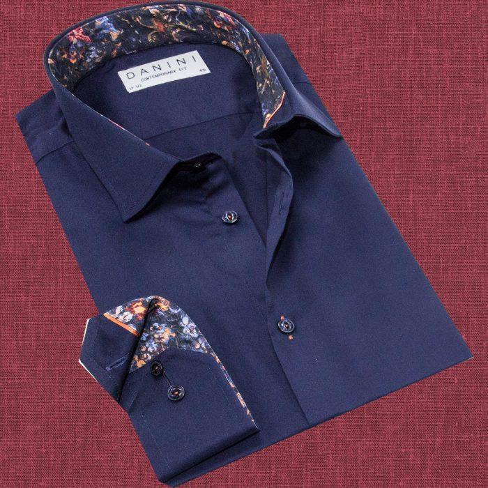 Long Sleeve Trendy Collar Shirt