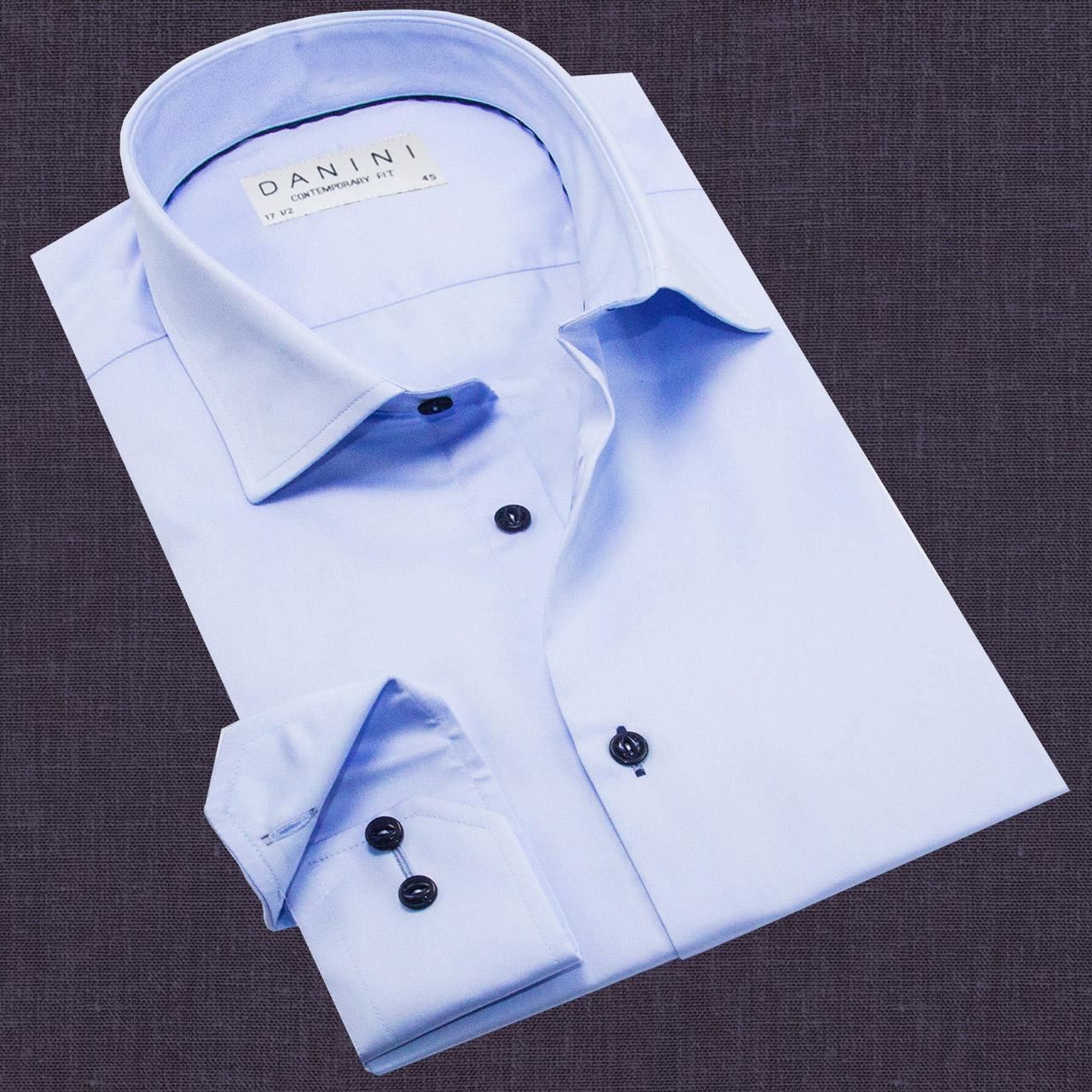 Long Sleeve Baby Blue Shirt