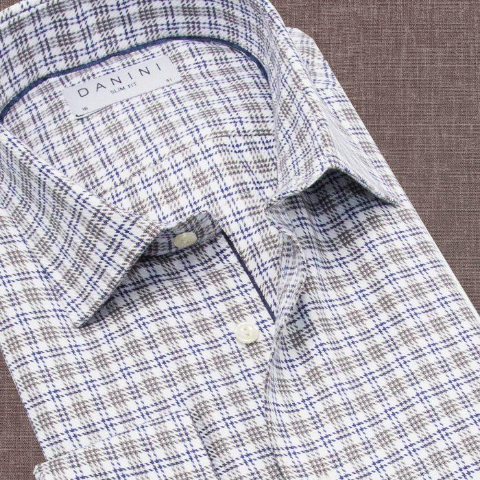 Light Color Check Shirt