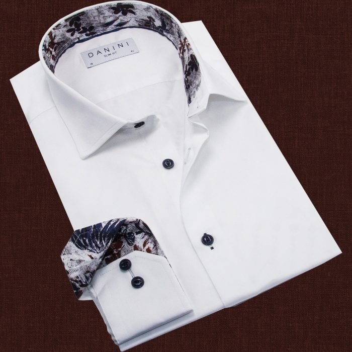 Plain Long Sleeve White shirt Canada