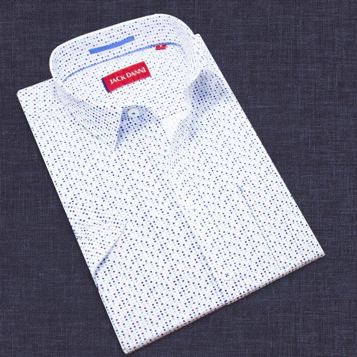 Men's Short Sleeve Designer Shirt