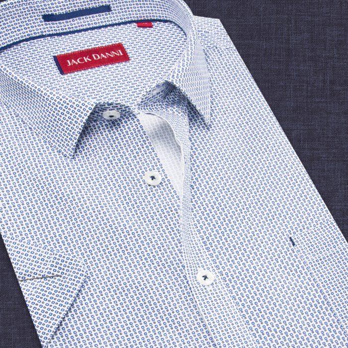 Blue Stylish Printed Shirt