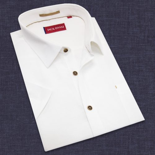 Men's Collar White shirt