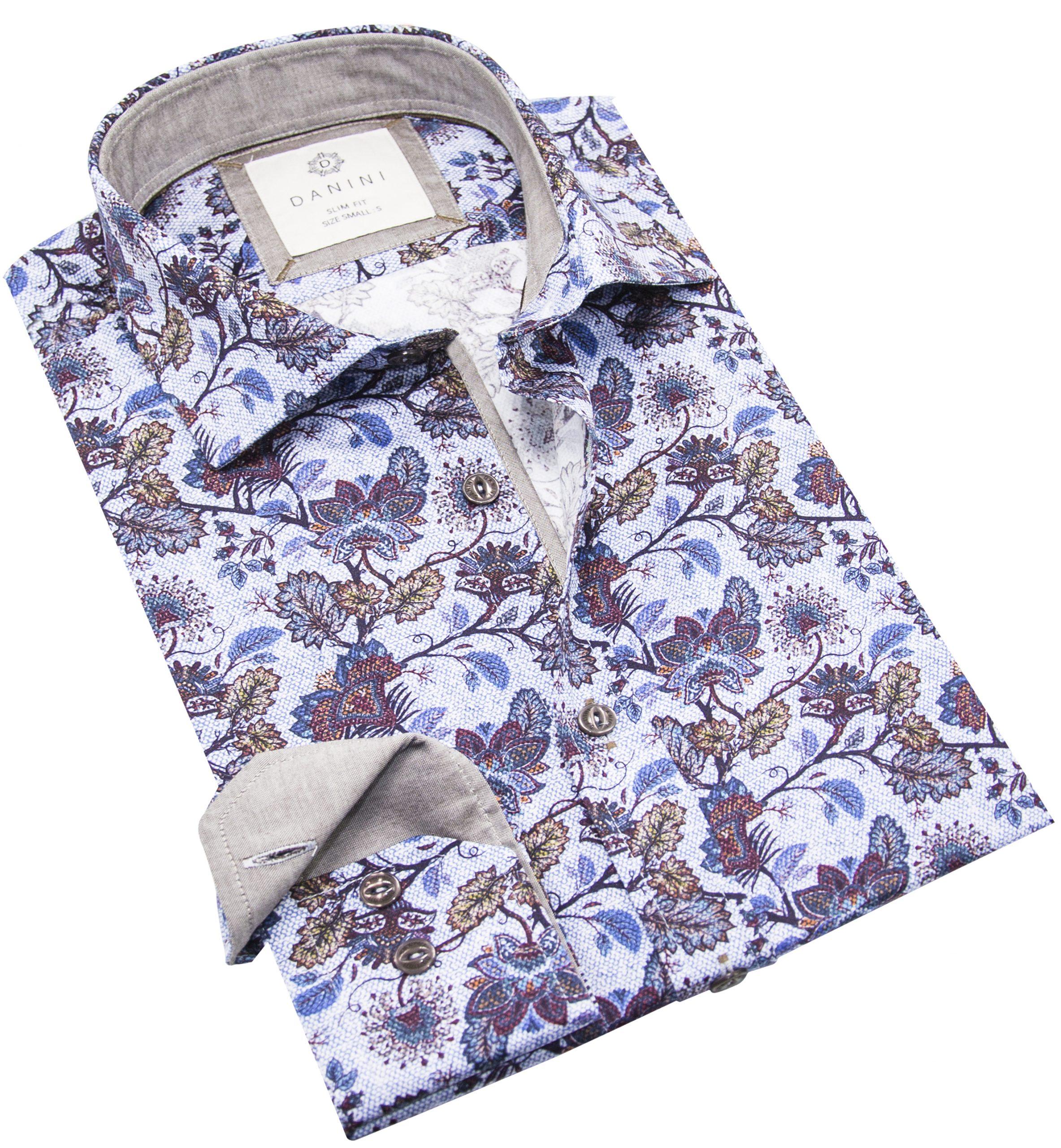 Men's Printed Shirt - Best Printed Shirts Canada - Danini