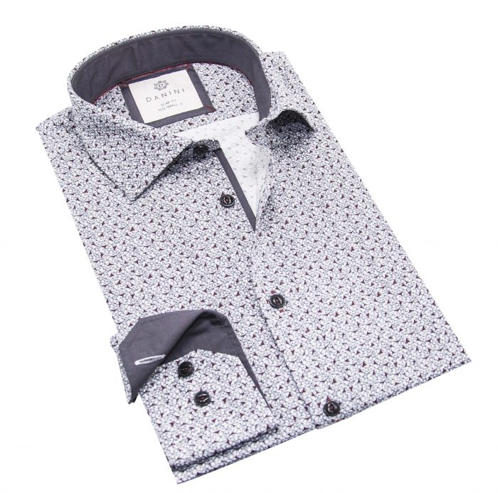 Designer Men's Shirt - Long Sleeve Shirts Canada - Danini