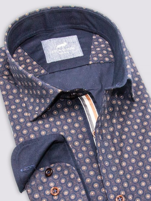 Stylish Men's Blue Shirt