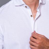 White Shirt, Collar Shirt, Summer Shirt