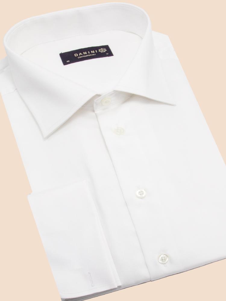 Dress Shirt, Collar Shirt, Men's White Shirt
