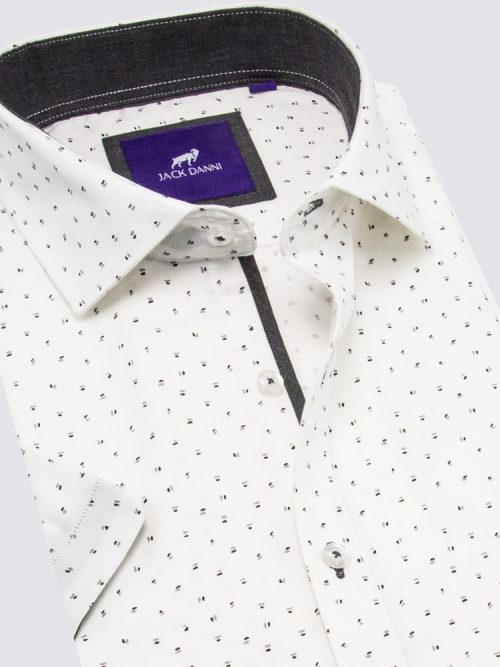 White Shirt, White Collar Shirt, Best Collar Shirt, Danini